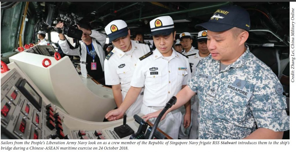 Chinese-ASEAN exercise
