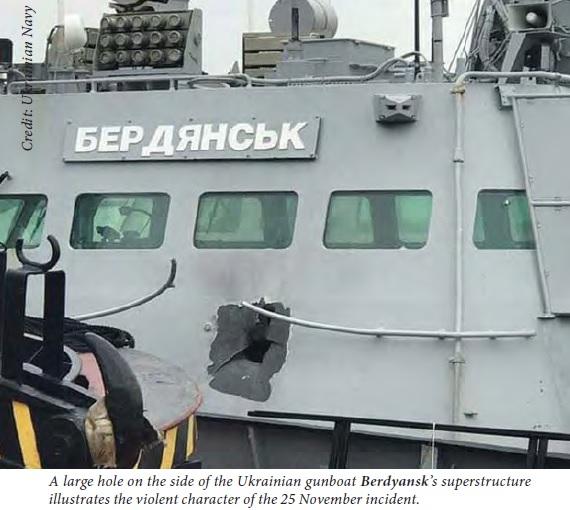 UKR ship in Azov Sea