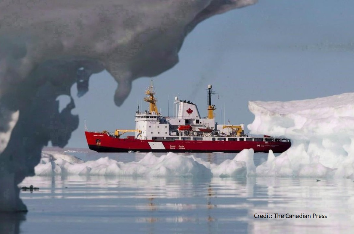 CAN Coast Guard in Arctic