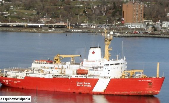 CAN Coast Guard ship