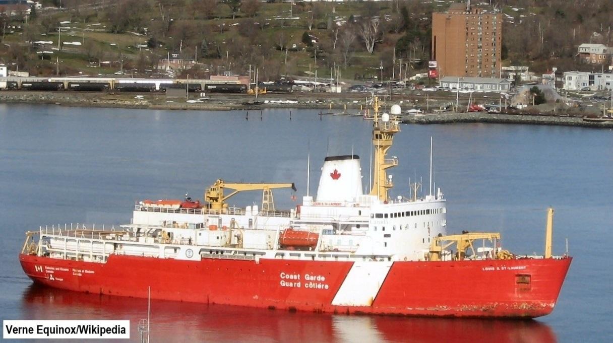 CAN Coast Guard ship