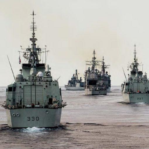RCN frigates in TGX
