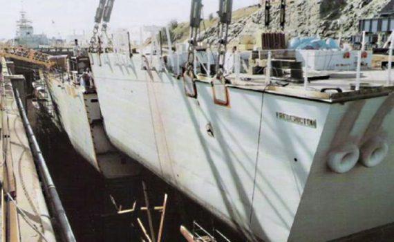 FRE in dock