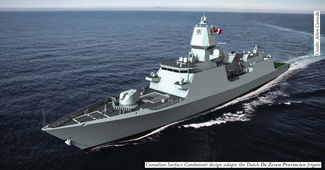 AU ship design option