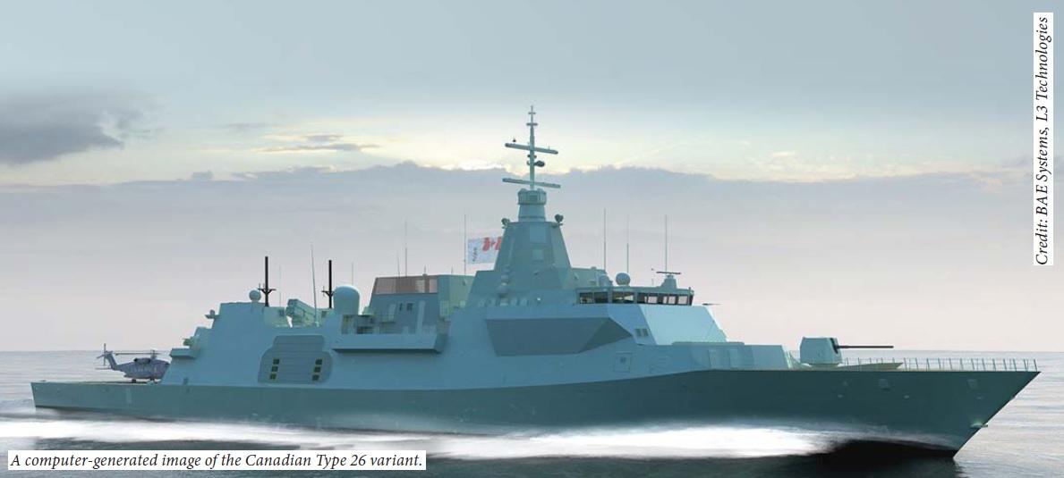CSC Type 26 BAE