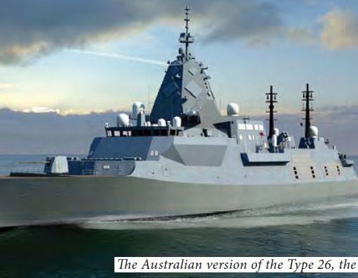 Hunter-class Type 26