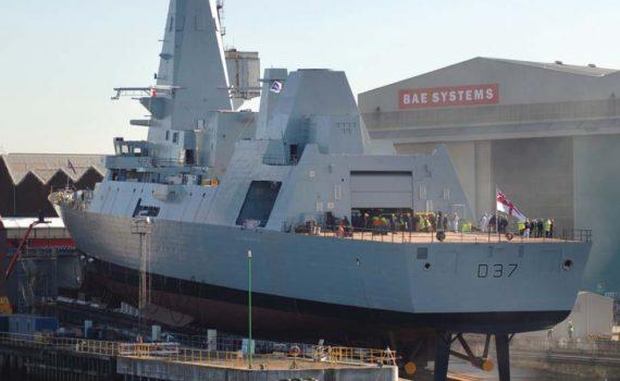 HMS Duncan BAE