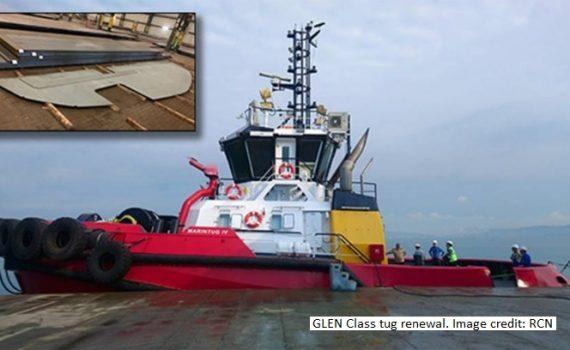 GLEN class tug boat