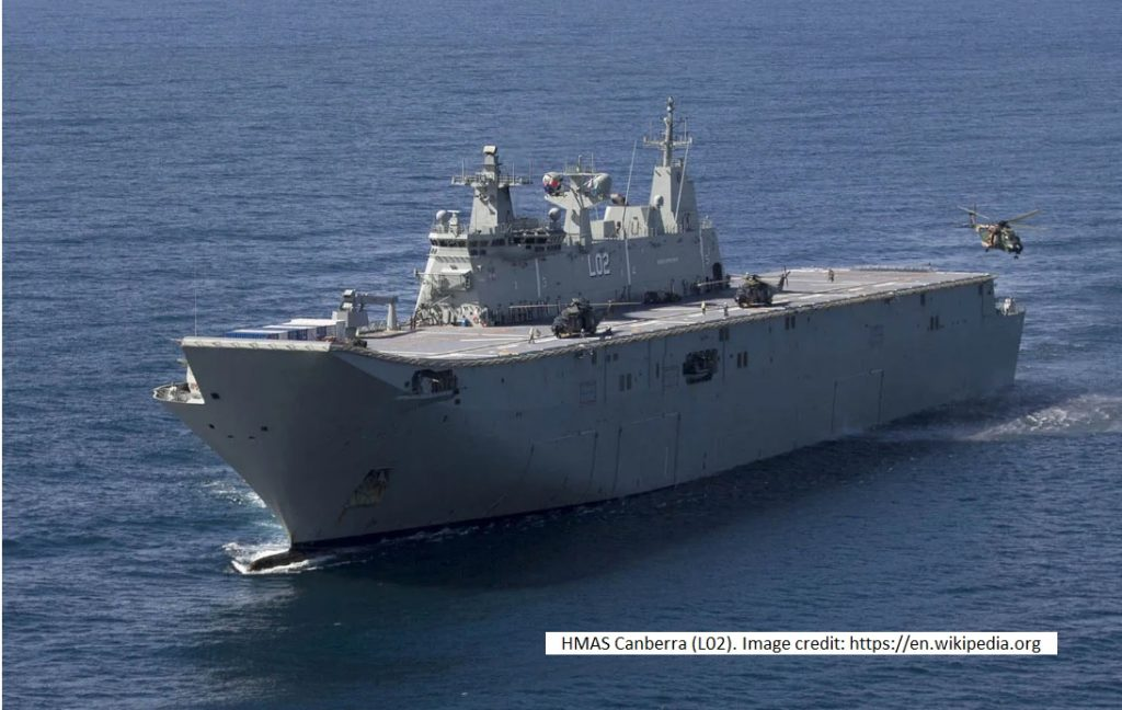 HMAS Canberra L02