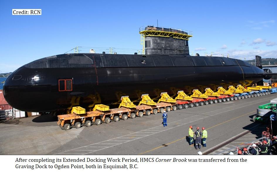 HMCS Corner Brook EDWP