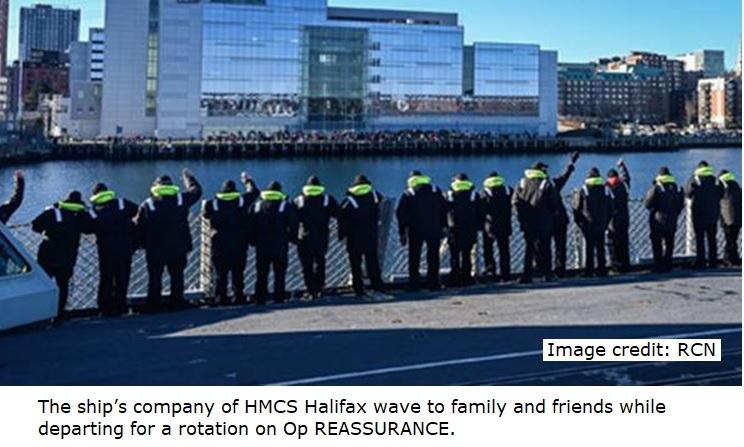 HMCS HFX 2020 - Op Reassurance