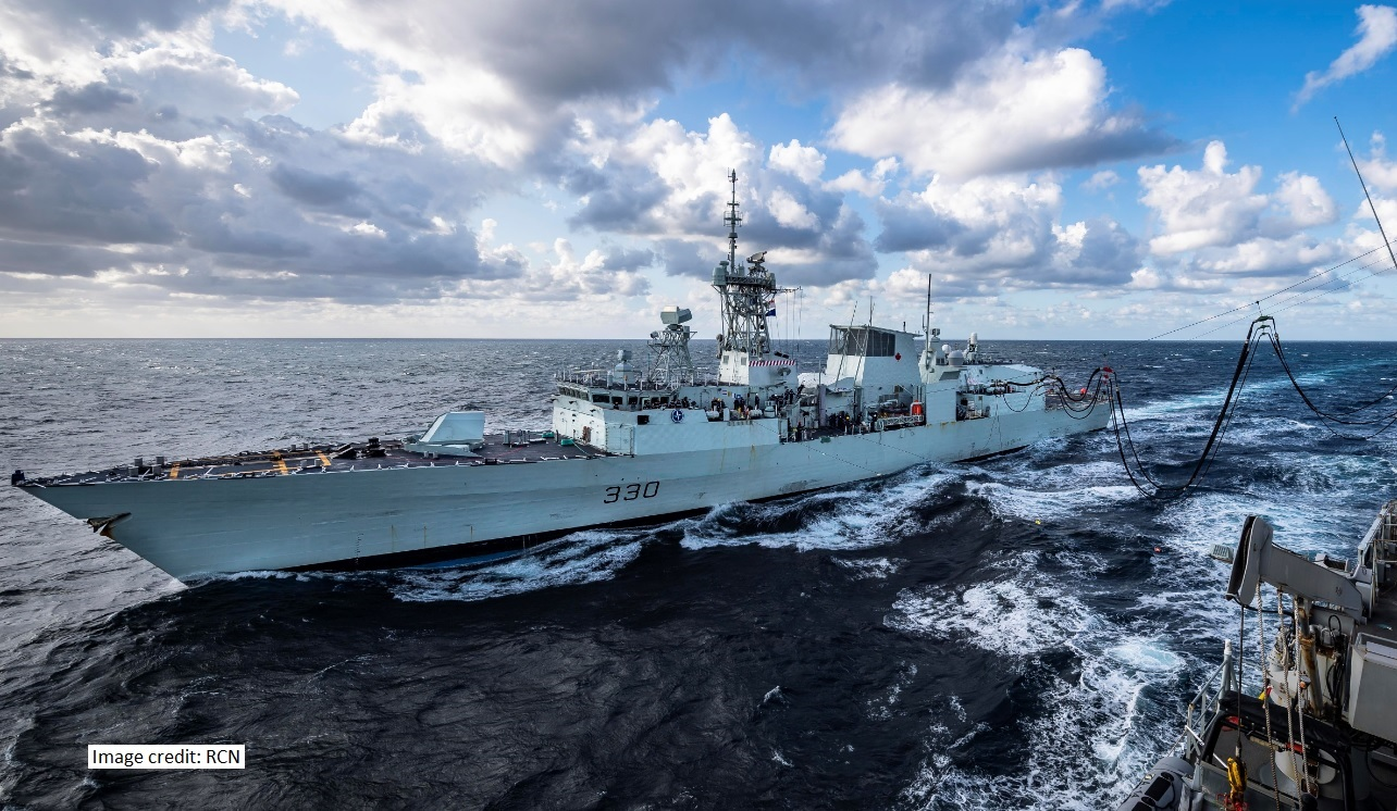 HMCS Halifax RAS