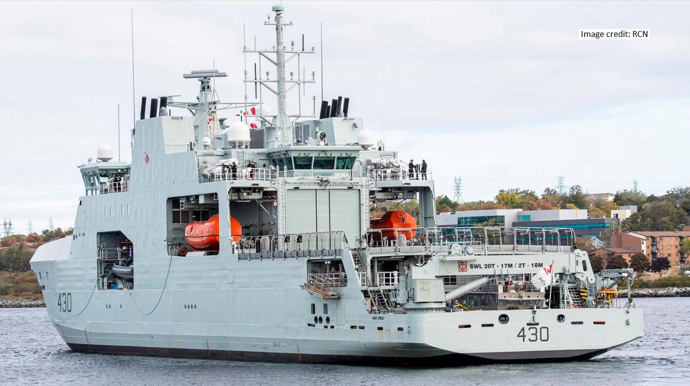 HMCS Harry DeWolf Oct20