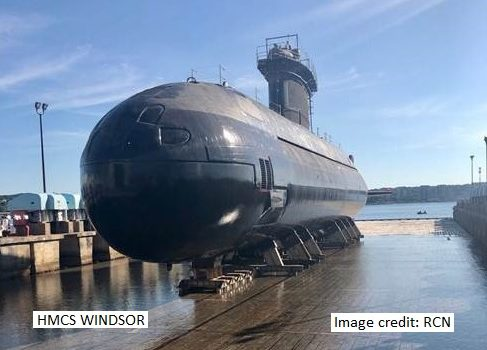 HMCS Windsor 2020
