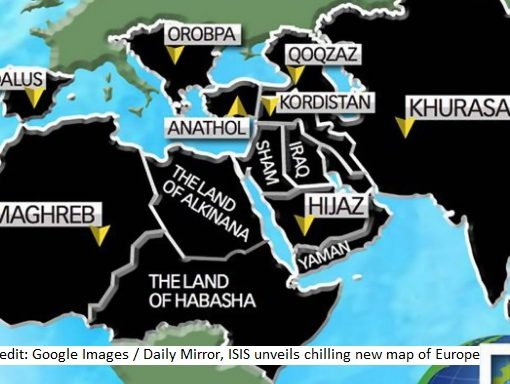 ISIS map post 2016
