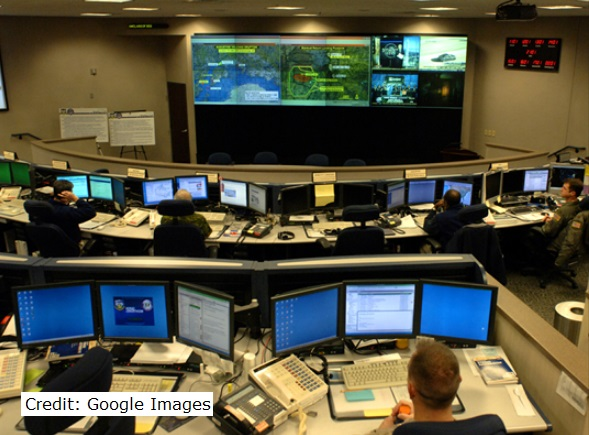 NORAD ops room