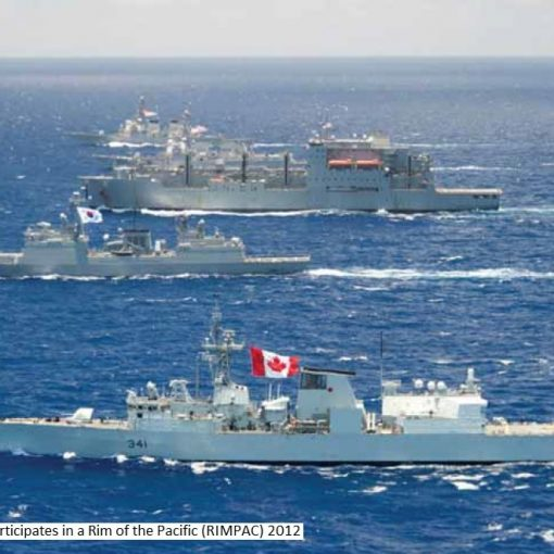 HMCS OTT at RIMPAC 2012