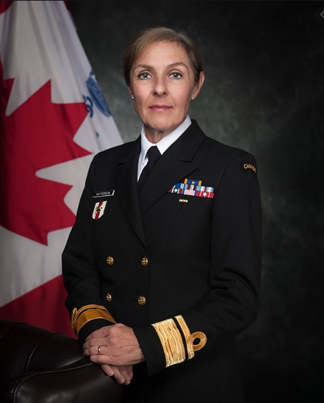 Rear-Admiral Rebecca Patterson