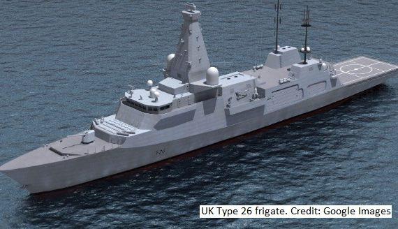 Type 26 frigate BAE