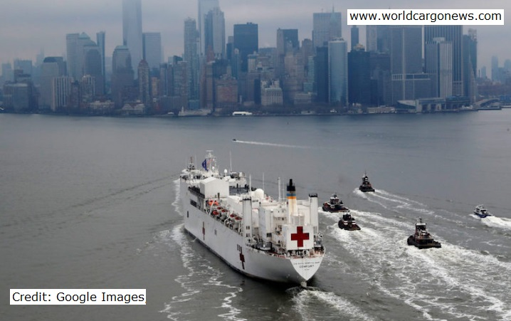 USN Hospital Ship post