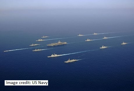USN in South China sea 2016