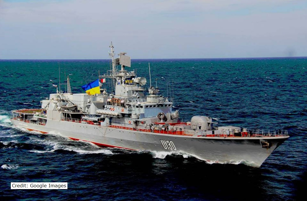 Ukr navy ship