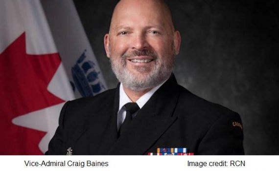Vice-Admiral Craig Baines