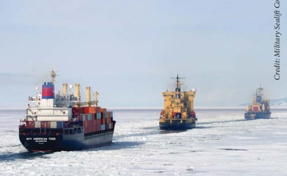 ships in arctic