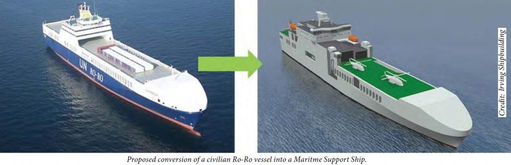 JSS convert ship