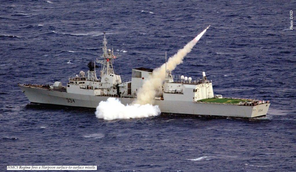 REG fires missile