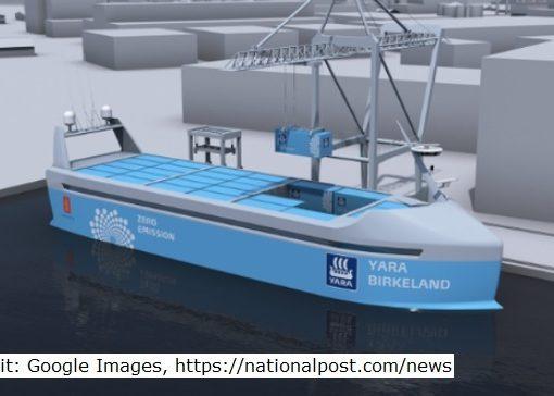 self-driving ship
