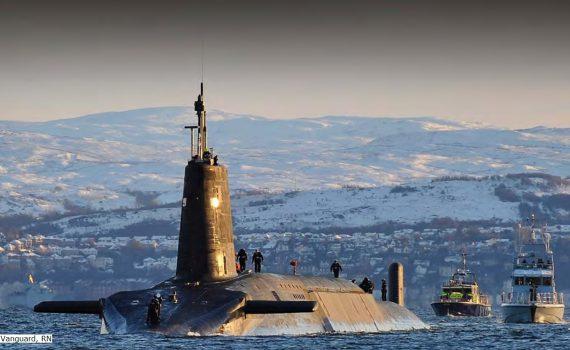 UK nuclear sub