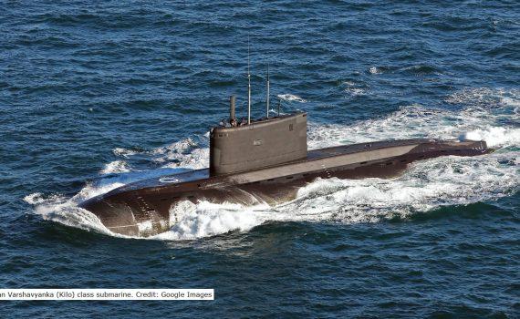 Rus Kilo class sub